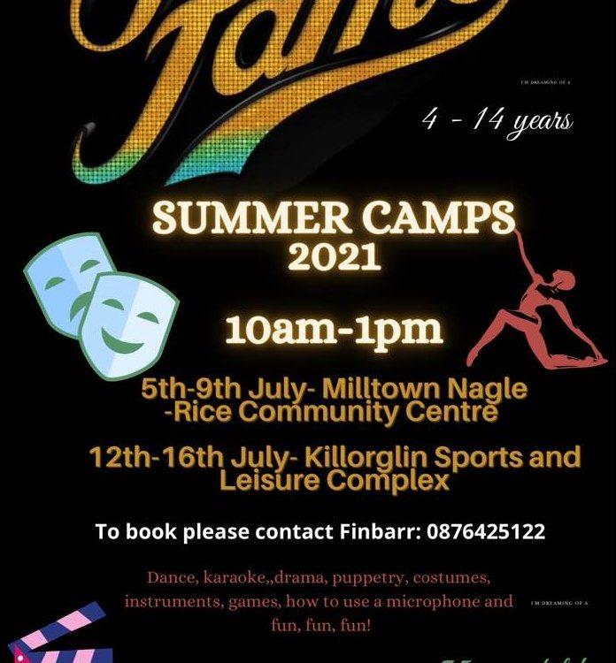 Fame summer Camps Killorglin Sports Complex